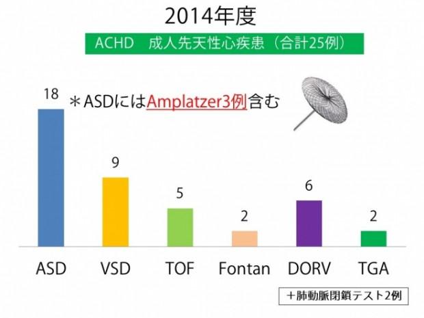 ACHD 2014年件数