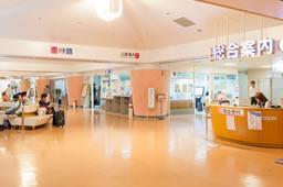 病院待合室の写真